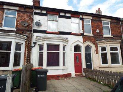3 Bedrooms Terraced House for sale in Miller Road, Preston, Lancashire, PR1