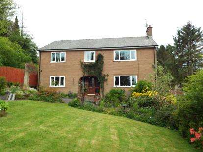 4 Bedrooms Detached House for sale in Bath Banks, Selattyn, Oswestry, Shropshire, SY10