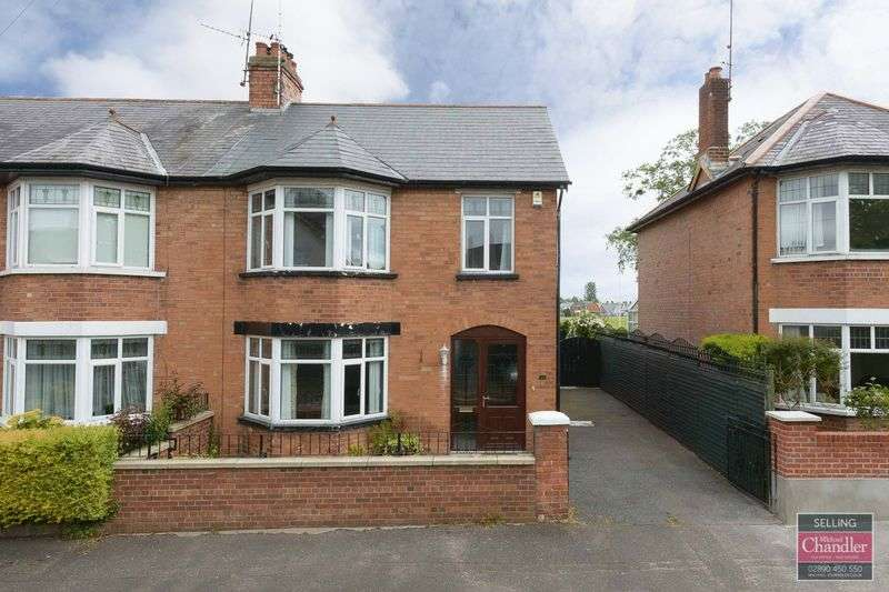 3 Bedrooms Semi Detached House for sale in 38 Ravensdene Crescent, Belfast, BT6 0DB
