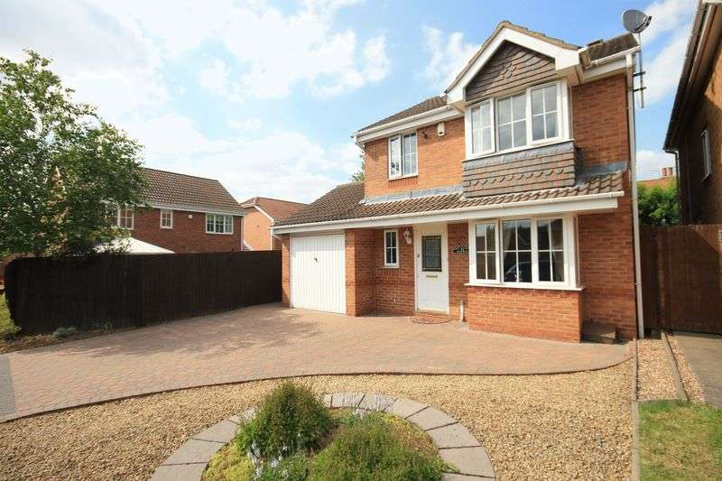 3 Bedrooms Detached House for sale in LOWS COURT, CHELLASTON