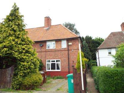 2 Bedrooms Semi Detached House for sale in Wensor Avenue, Beeston, Nottingham