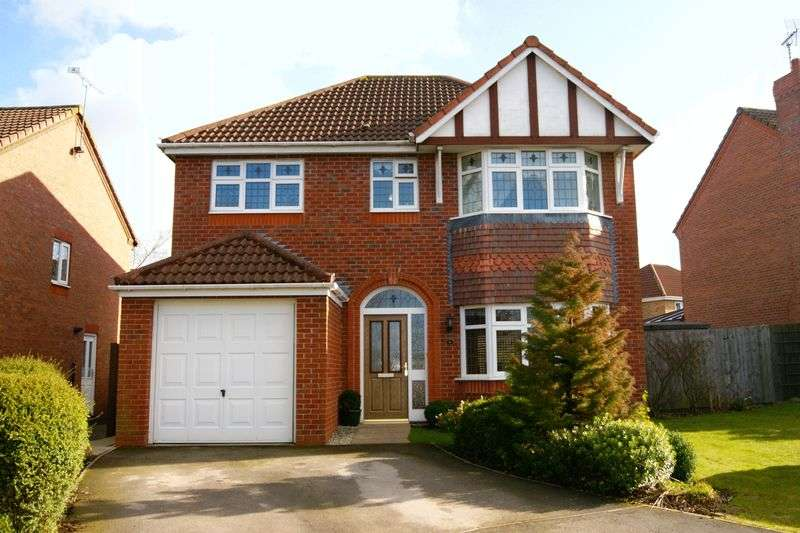 4 Bedrooms Detached House for sale in Belfry Close, Wrexham