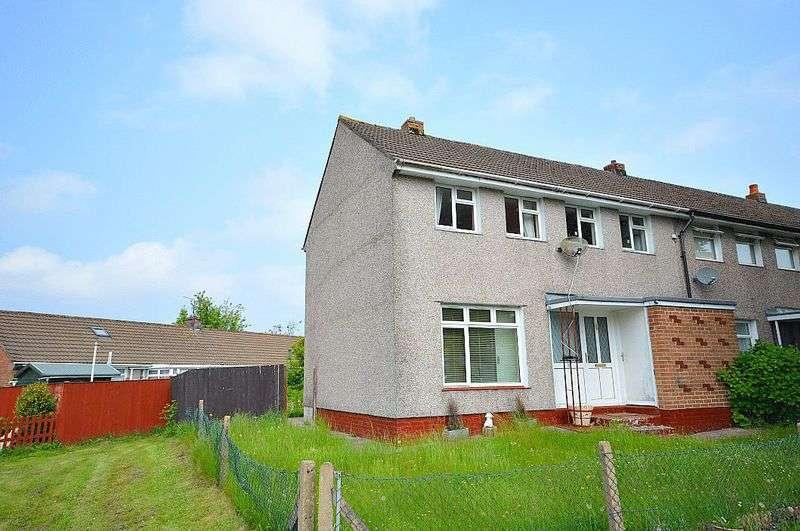 3 Bedrooms Terraced House for sale in Brangwyn Avenue, Cwmbran