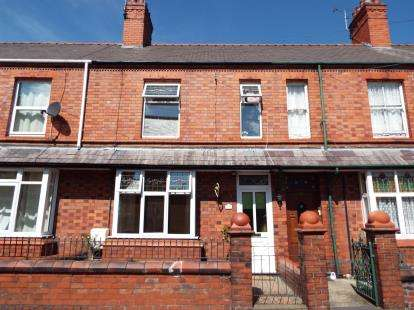 2 Bedrooms Terraced House for sale in Cleveland Street, Ruabon, Wrexham, Wrecsam, LL14