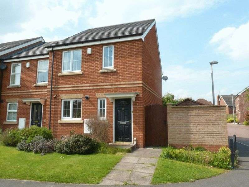 3 Bedrooms Semi Detached House for sale in Beechwood Close, Nantwich