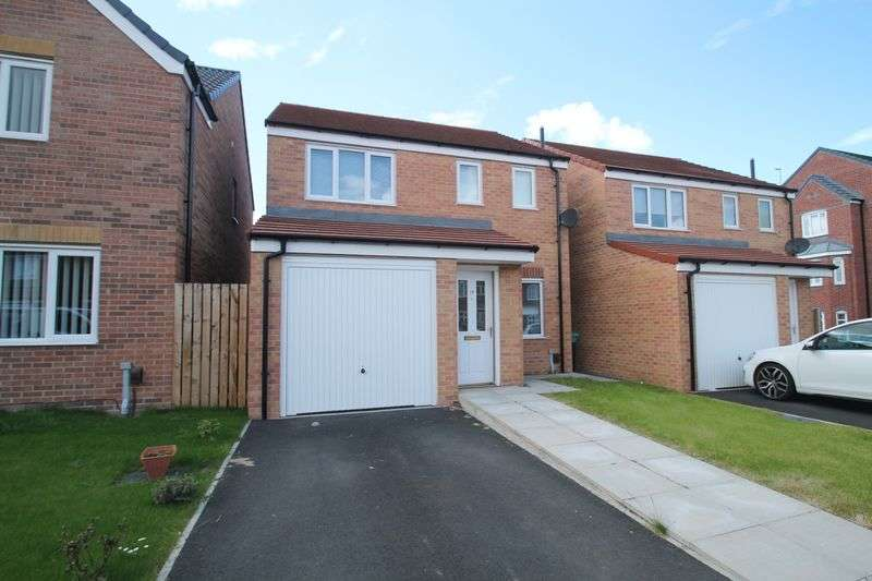 3 Bedrooms Detached House for sale in Scholars Rise, Middlesbrough