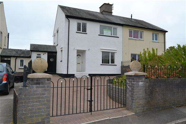 3 Bedrooms Semi Detached House for sale in Valley View, Workington