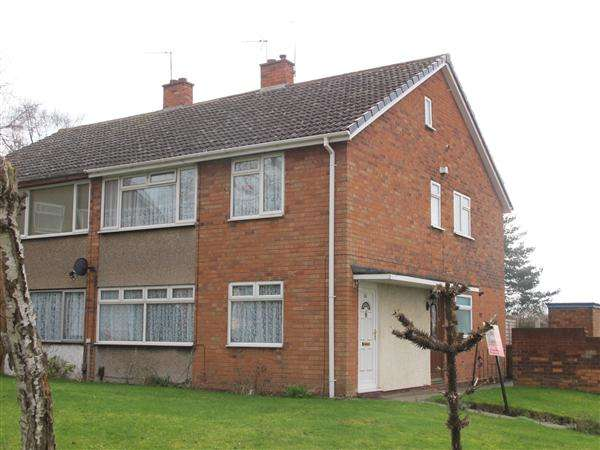 2 Bedrooms Apartment Flat for sale in Hillside Close, Walsall