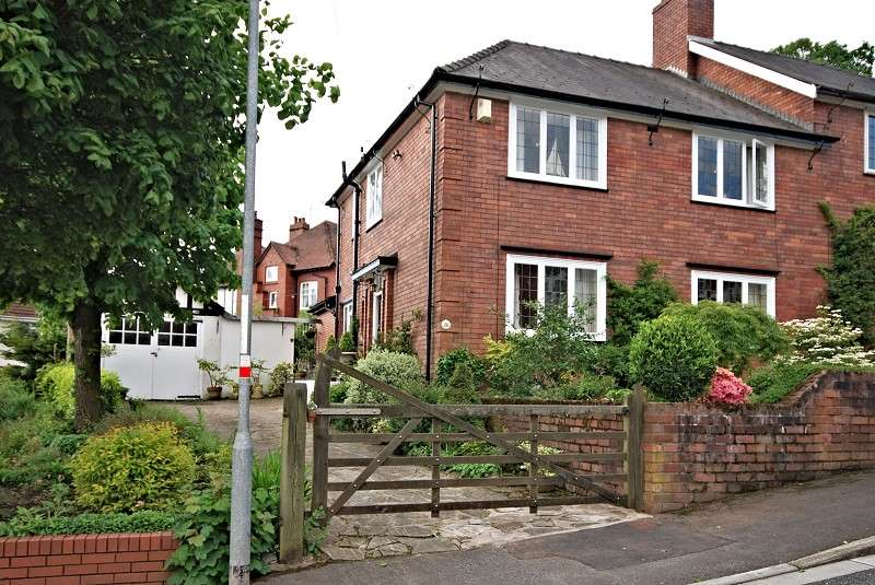 3 Bedrooms Semi Detached House for sale in 26 Fields Park Avenue, Newport, South Wales. NP20 5BE