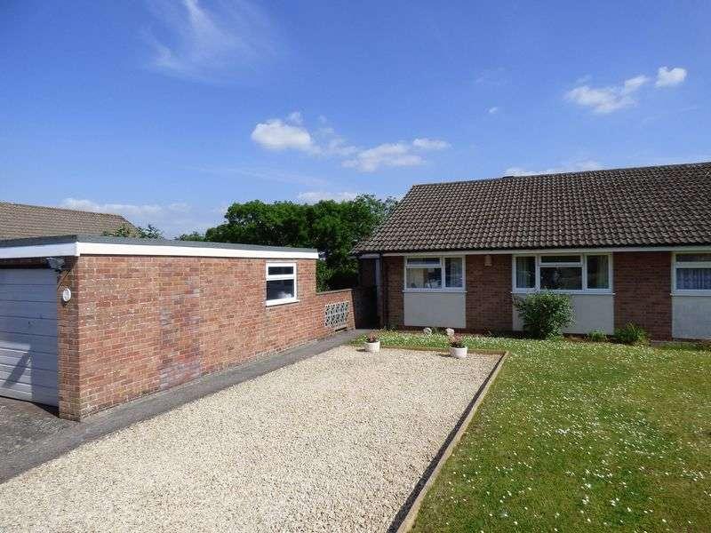 3 Bedrooms Semi Detached Bungalow for sale in Aycote Close, Milton, Weston-Super-Mare