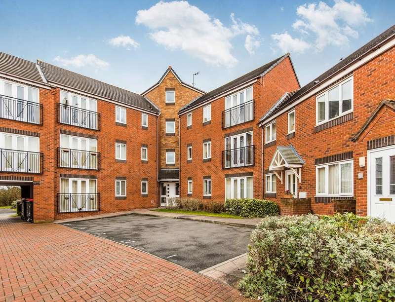 2 Bedrooms Flat for sale in Redlands Road, Hadley, Telford, TF1