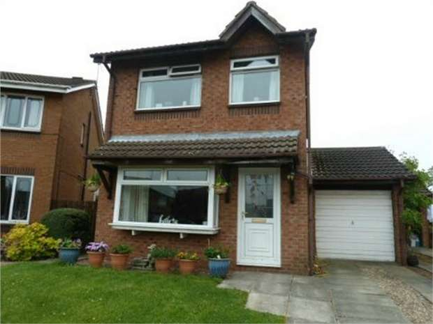 3 Bedrooms Detached House for sale in Shawbrow View, Bishop Auckland, Durham