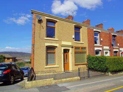 2 Bedrooms End Of Terrace House for sale in Livesey Branch Road, Livesey, Blackburn, Lancashire, BB2