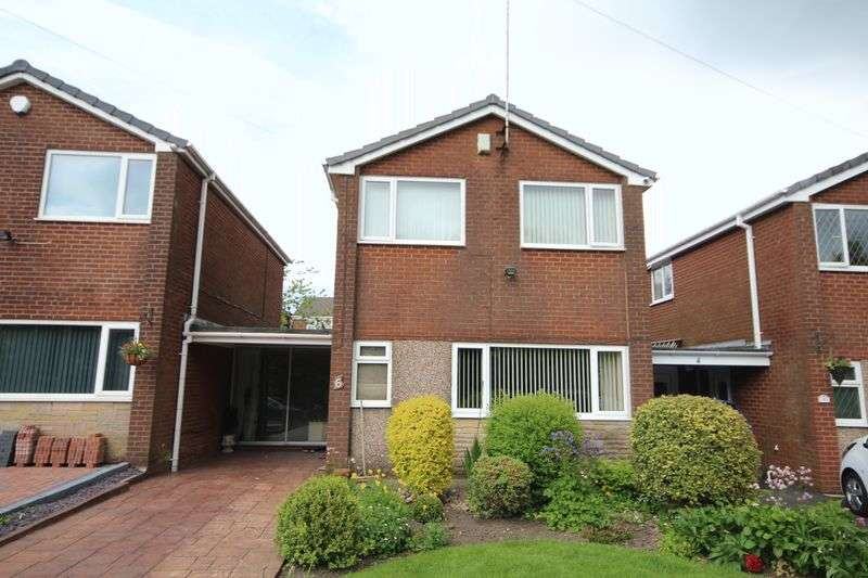 3 Bedrooms Detached House for sale in STONEHILL ROAD, Rooley Moor, Rochdale OL12 7JJ