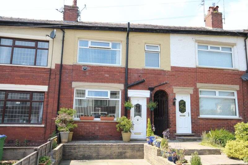 2 Bedrooms Terraced House for sale in BOWNESS AVENUE, Meanwood, Rochdale OL12 7DN