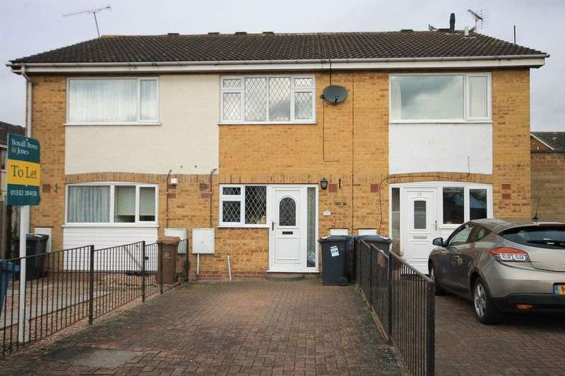 2 Bedrooms Terraced House for sale in SMALL MEER CLOSE, CHELLASTON
