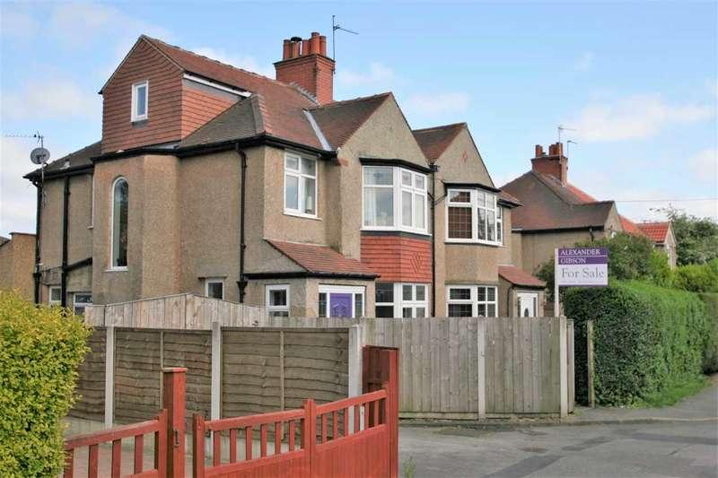 4 Bedrooms Semi Detached House for sale in 8 Rydal Road, a short walk from Harrogate Stray, Harrogate HG1 4SQ