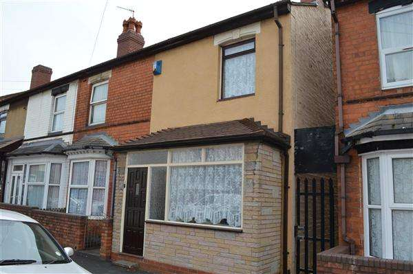 2 Bedrooms End Of Terrace House for sale in Newland Road, Small Heath, Birmingham