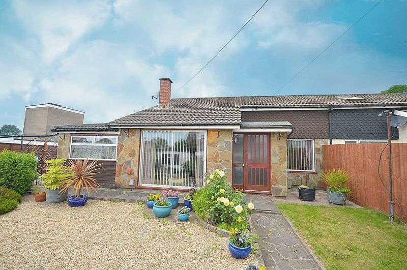 2 Bedrooms Semi Detached Bungalow for sale in Maindee Terrace, Cwmbran