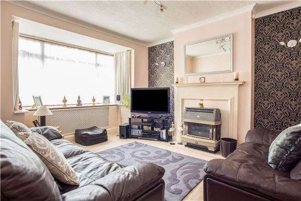 3 Bedrooms Terraced House for sale in Matlock Crescent, CHEAM, Surrey, SM3 9SN