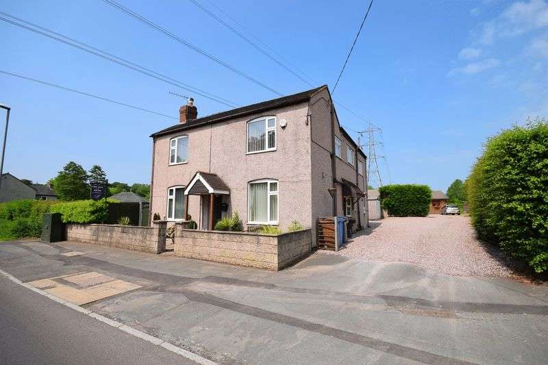 4 Bedrooms Semi Detached House for sale in Endon Road, Norton Green