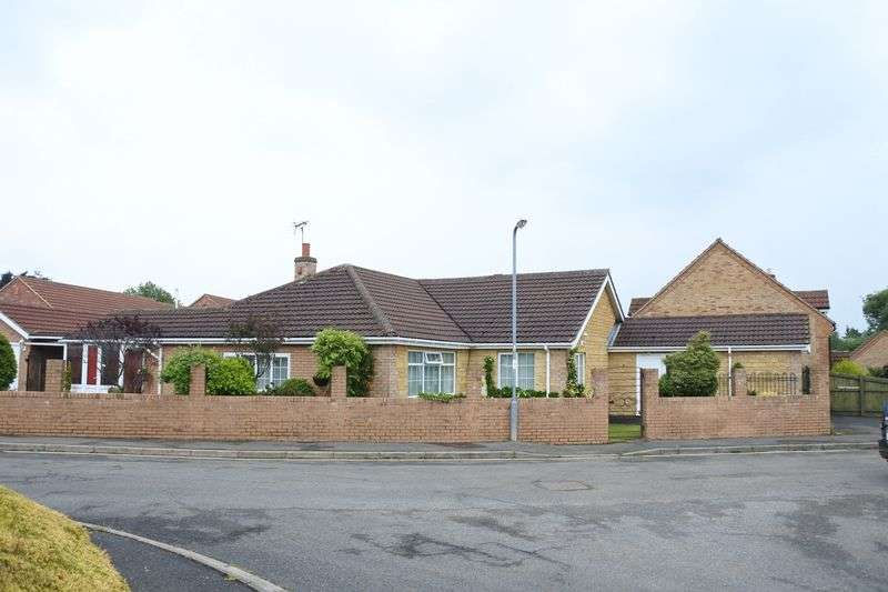 4 Bedrooms Detached Bungalow for sale in Mussons Close, Corby Glen, Grantham