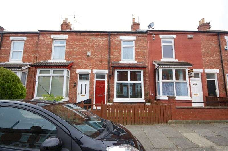 2 Bedrooms Terraced House for sale in Greenbank Road, Darlington