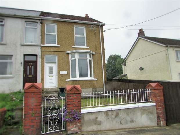 3 Bedrooms Semi Detached House for sale in Golwg Y Bryn, Seven Sisters, Neath, West Glamorgan
