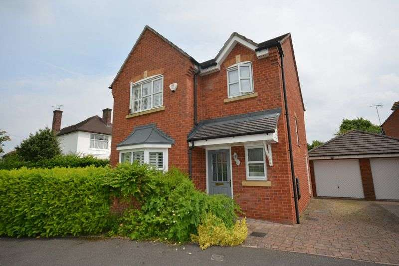 3 Bedrooms Detached House for sale in Salisbury Close, Crewe