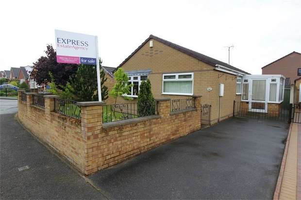 3 Bedrooms Detached Bungalow for sale in Elvaston Road, North Wingfield, Chesterfield, Derbyshire