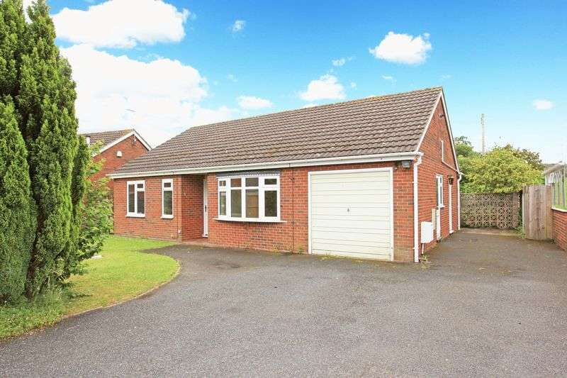 3 Bedrooms Detached Bungalow for sale in Fielding Close, Broseley