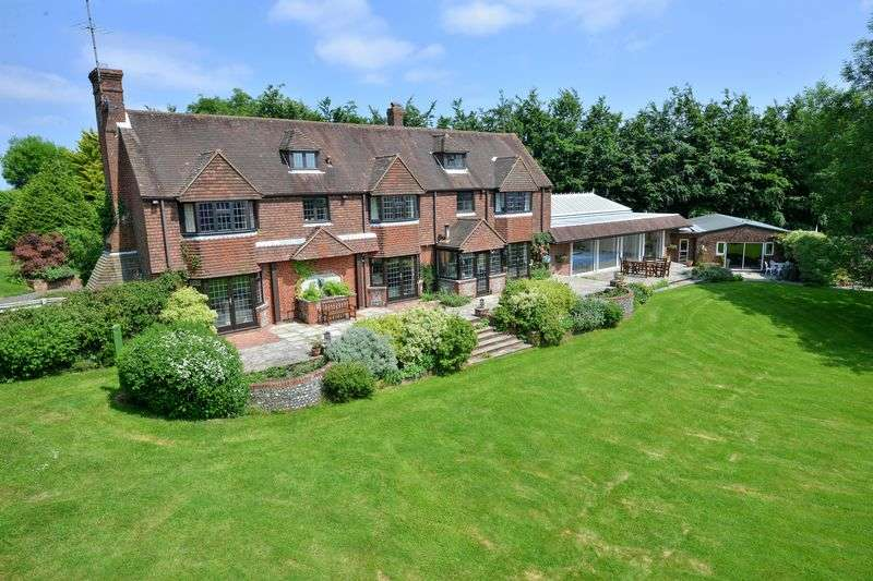 5 Bedrooms Detached House for sale in Woodmancote, Nr. Henfield