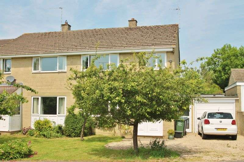 3 Bedrooms Semi Detached House for sale in Oakleaze, Minety, Wiltshire