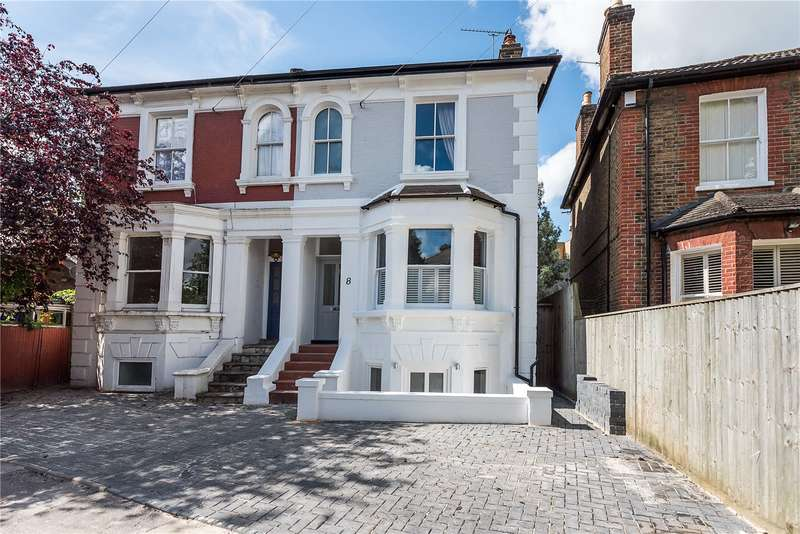 5 Bedrooms Semi Detached House for sale in Palmer Crescent, Kingston upon Thames, KT1