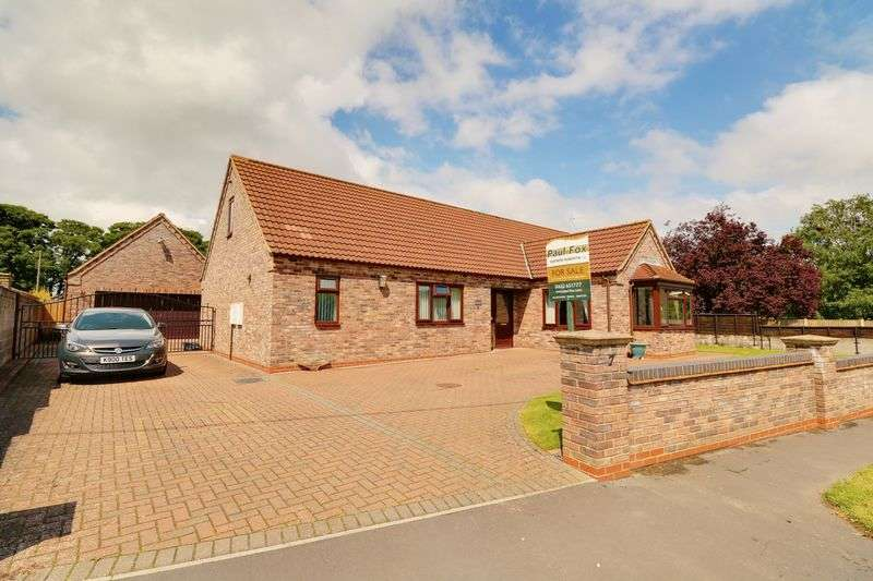 5 Bedrooms Detached Bungalow for sale in East Street Hibaldstow