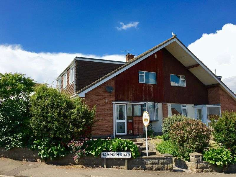 4 Bedrooms Semi Detached House for sale in Hampden Road, Worle, Weston-Super-Mare