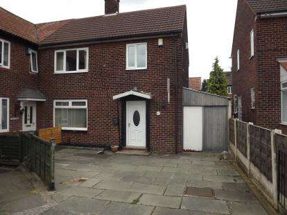 3 Bedrooms End Of Terrace House for sale in Glebelands Road, Manchester, Greater Manchester