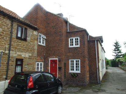 2 Bedrooms Terraced House for sale in Mill Row, Barrowby, Grantham