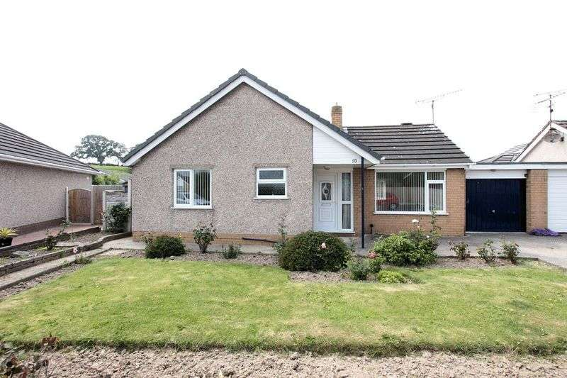 2 Bedrooms Detached Bungalow for sale in Ffordd Siarl, St Asaph