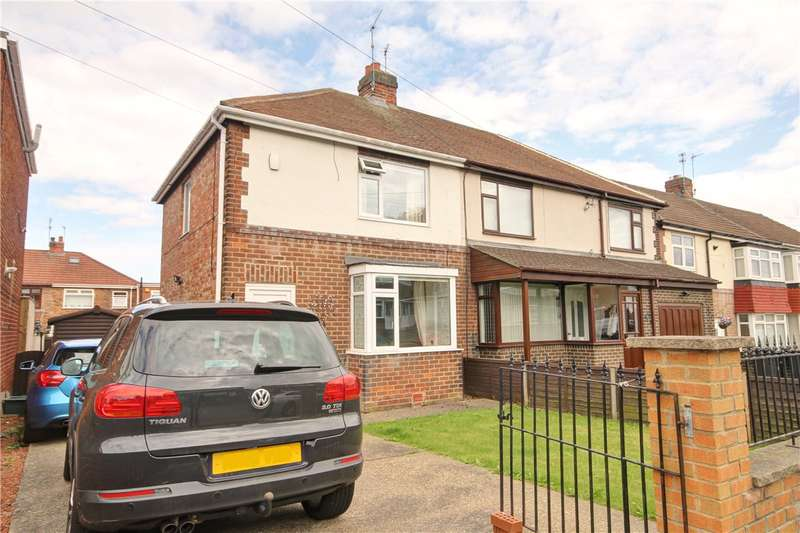 2 Bedrooms Semi Detached House for sale in Tudor Road, Chester Le Street, Co Durham, DH3