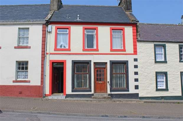 1 Bedroom Flat for sale in George Street, Whithorn, Newton Stewart, Dumfries and Galloway