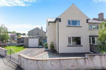 3 Bedrooms End Of Terrace House for sale in Hendy, Tal-Y-Bont, Conwy, LL32
