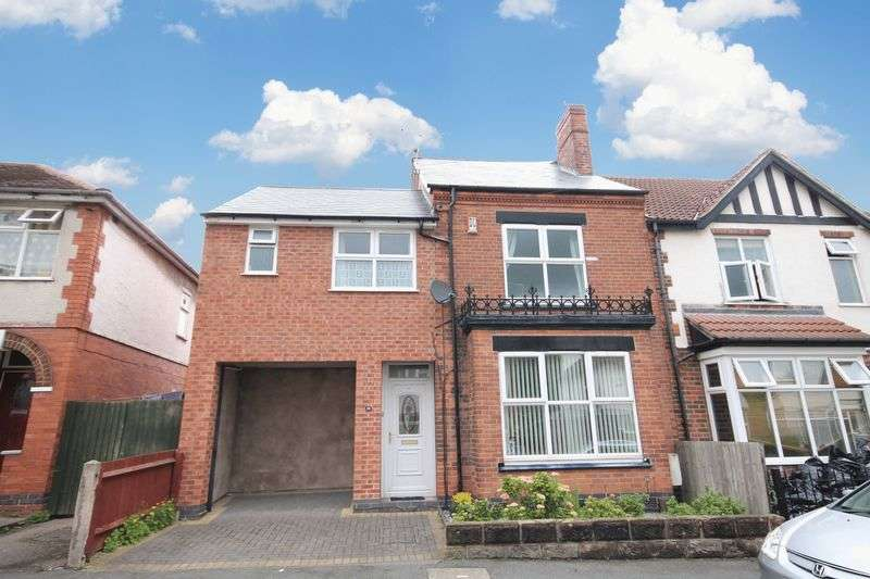 6 Bedrooms Semi Detached House for sale in PALMERSTON STREET, DERBY
