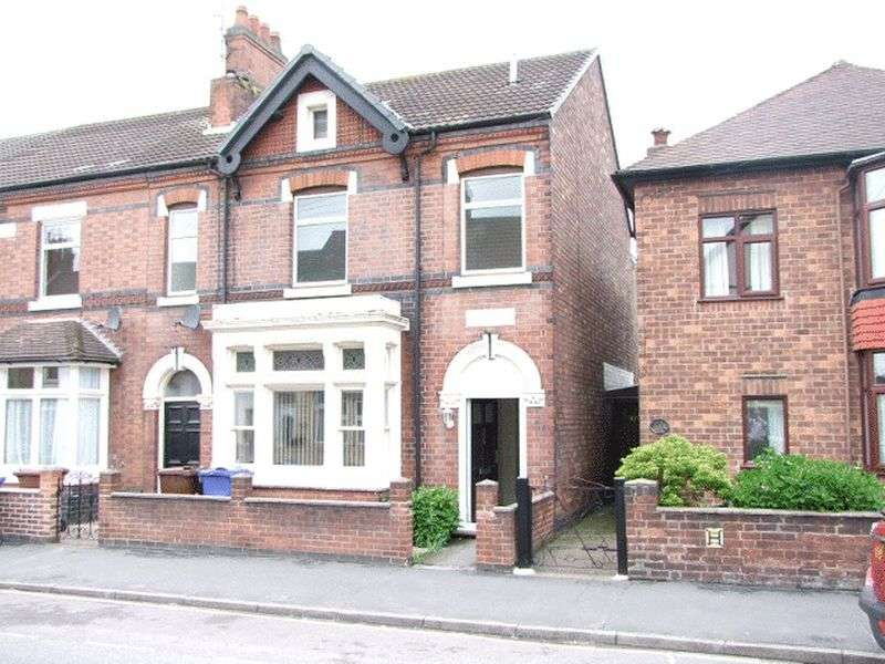 5 Bedrooms Semi Detached House for sale in Shobnall Street, Burton