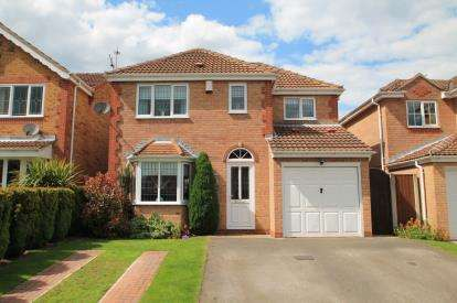 4 Bedrooms Detached House for sale in Parkgate, Hucknall, Nottingham, Nottinghamshire