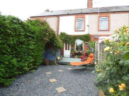 2 Bedrooms Terraced House for sale in Mount Pleasant, Ponciau, Wrexham, Wrecsam, LL14