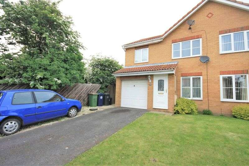3 Bedrooms Semi Detached House for sale in Rodney Close, Brotton ***WITH MEDIA TOUR***