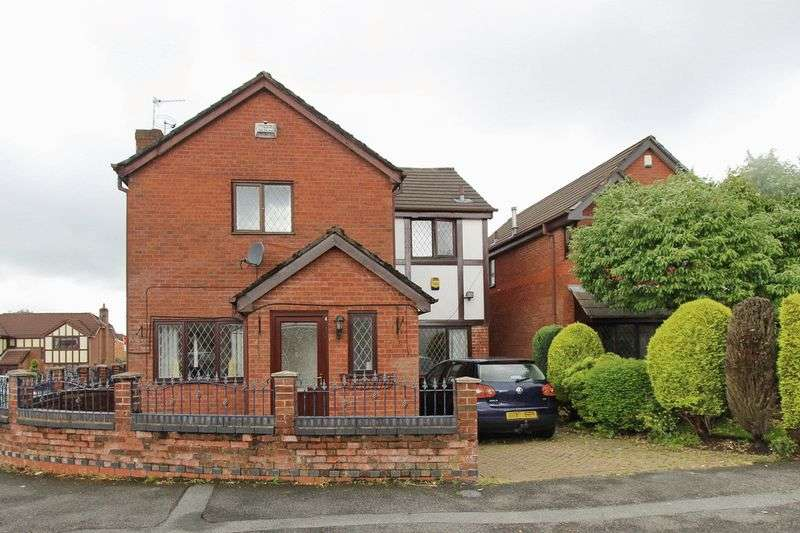 4 Bedrooms Detached House for sale in Burghley Drive, Radcliffe, Manchester