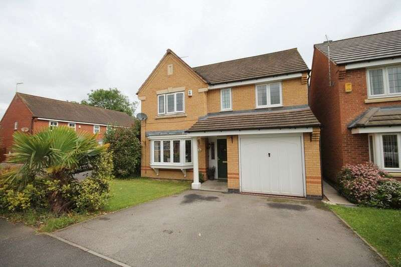 4 Bedrooms Detached House for sale in MANDARIN WAY, ALVASTON
