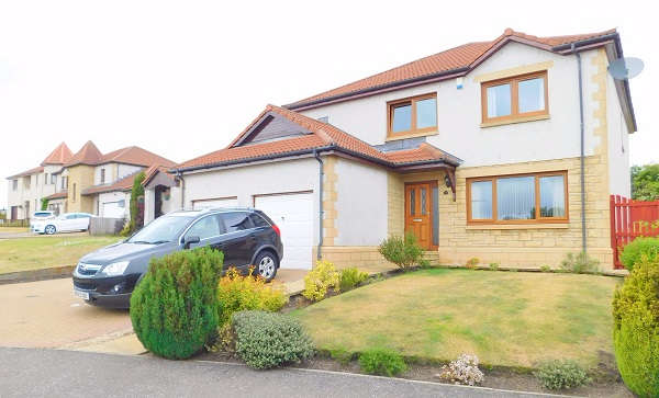 4 Bedrooms Detached House for sale in The Castings, Dunfermline, KY12